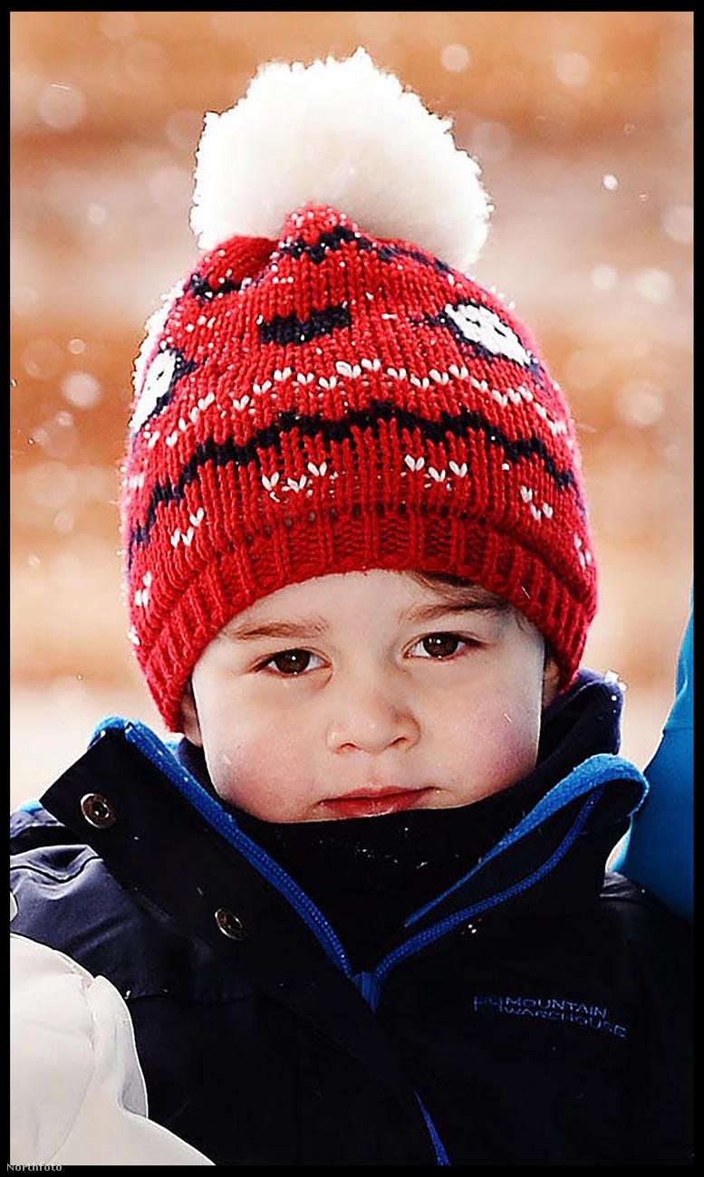 György angol hercegről szívesen és sokszor írunk, mert egy bájos kisgyerek