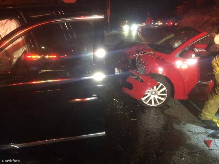 A héten jelentek meg Calvin Harris autóbalesetének képei