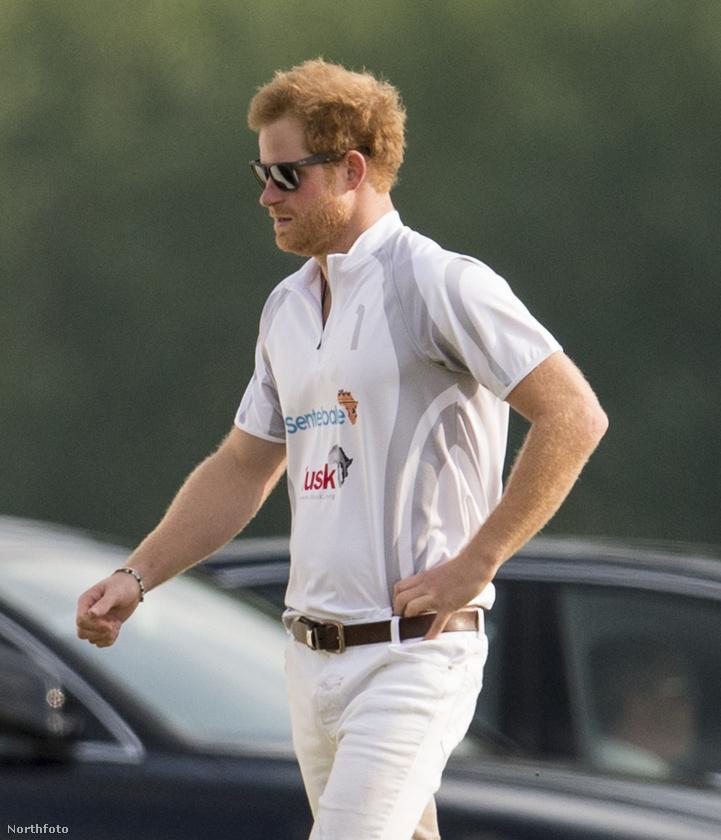 Harry herceggel búcsúzunk!                         Aki ma már photobombolt is