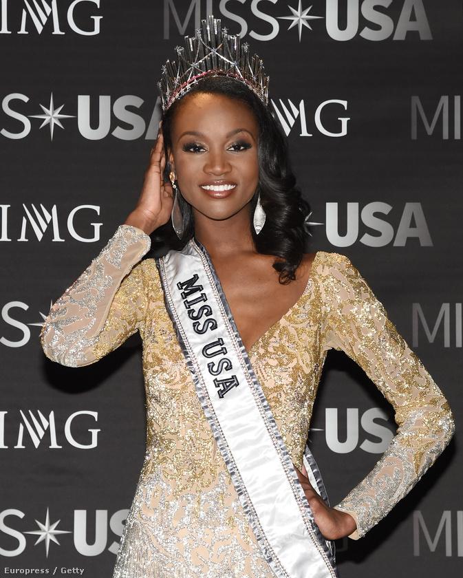 A hétvégén megválasztották Miss USA 2016-ot, a 26 éves Deshauna Barber nyert, aki Washingtonból érkezett