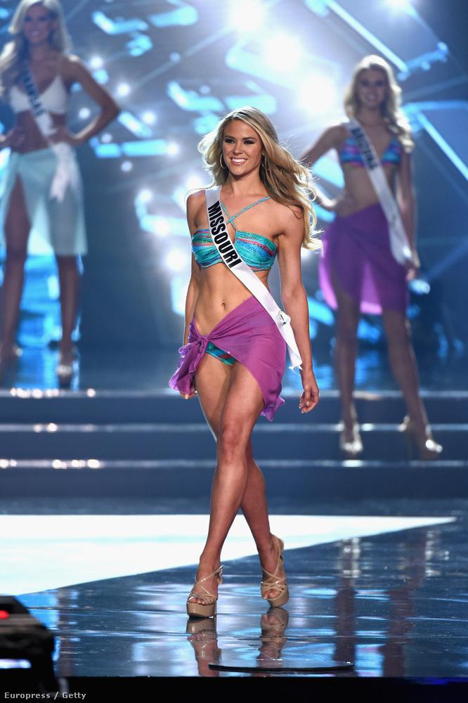 Miss Missouri bekerült az első tízbe, aztán úgy kiesett, mint a pinty