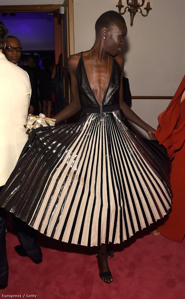 Akik a '90-es években divatrajongók voltak, azok biztosan szívesen emlékeznek Alek Wek modellre