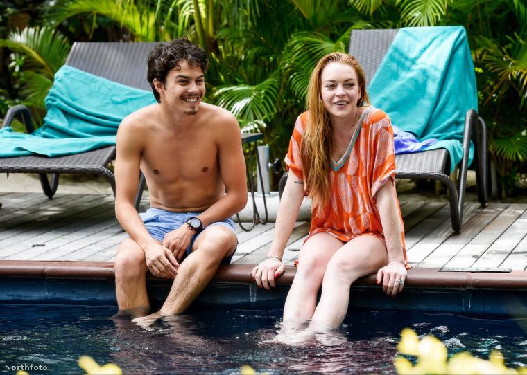 Az újra egészen jó formában lévő Lindsay Lohan és Egor Tarabasov valamikor márciusban jöttek össze.