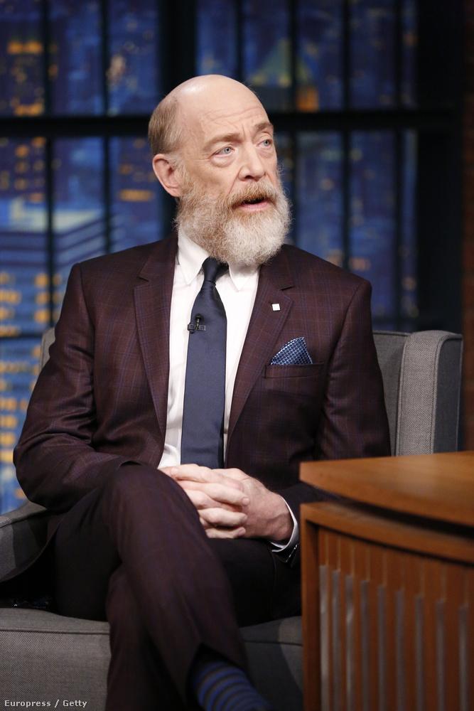 A szakállát mostanában vágta le, ez is Gordon felügyelő szerepéhez kellett