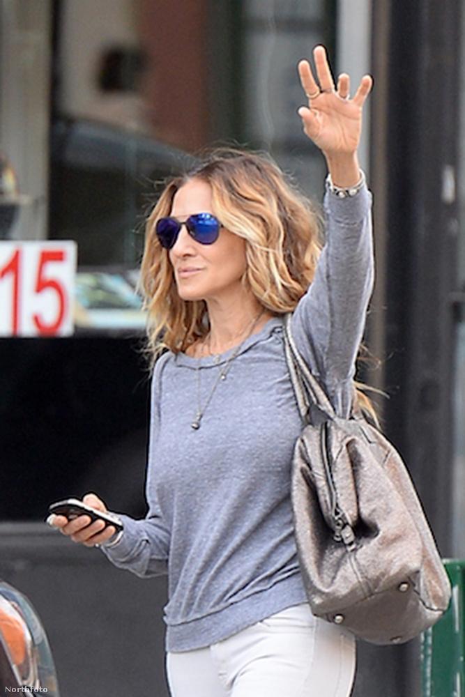 Ha valamelyik színészre mondhatjuk, hogy igazi New York-i, akkor az Sarah Jessica Parker