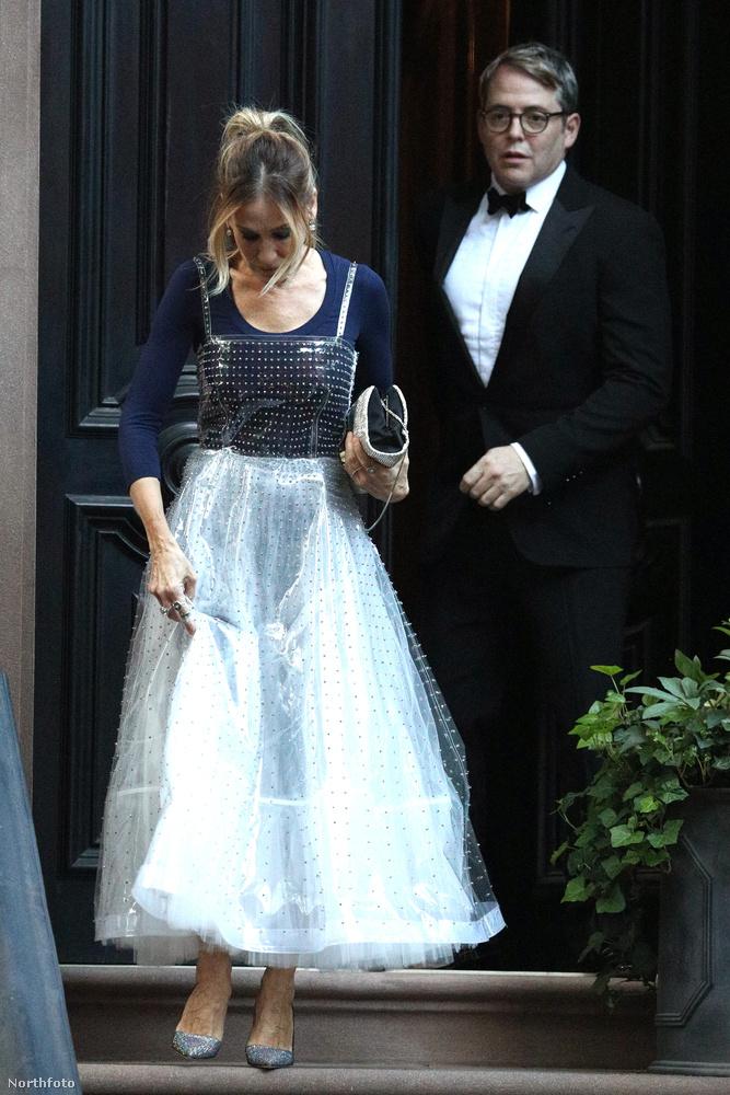 és egy májusi randi, ahogy Matthew Broderick és Sarah Jessica Parker kiléptek az utcára