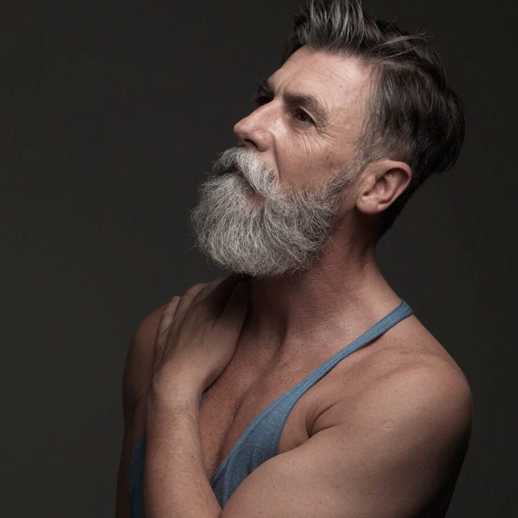"""""""Csak a hecc kedvéért döntöttem úgy, hogy szakállat növesztek, és azt hittem, katasztrofális lesz, de végül mindenkinek tetszett."""""""