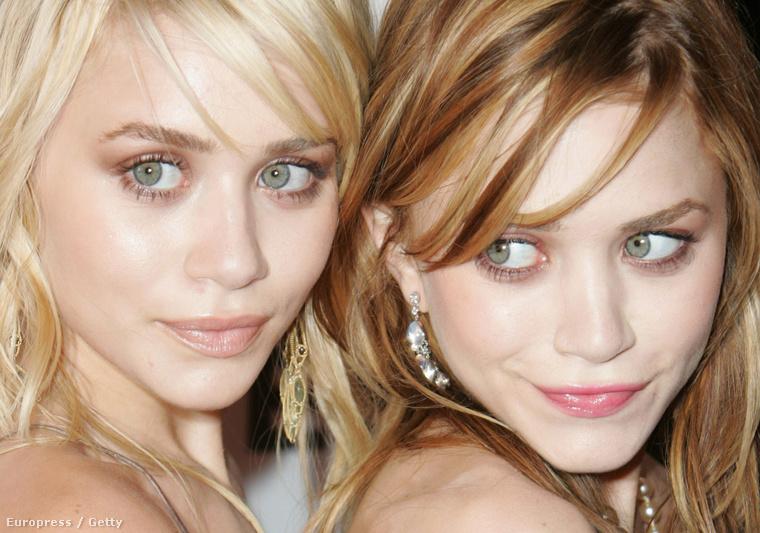2004-ben már hajszínüket tekintve is próbáltak nem hasonlítani egymásra.