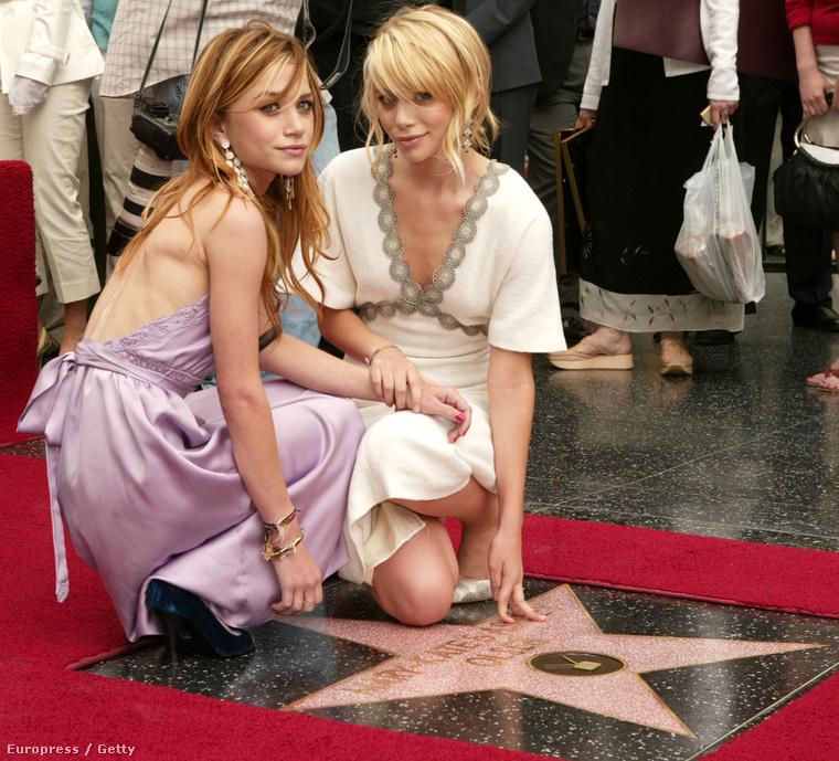 Mary-Kate Olsen viszont szerepelt a Nancy ül a fűben c