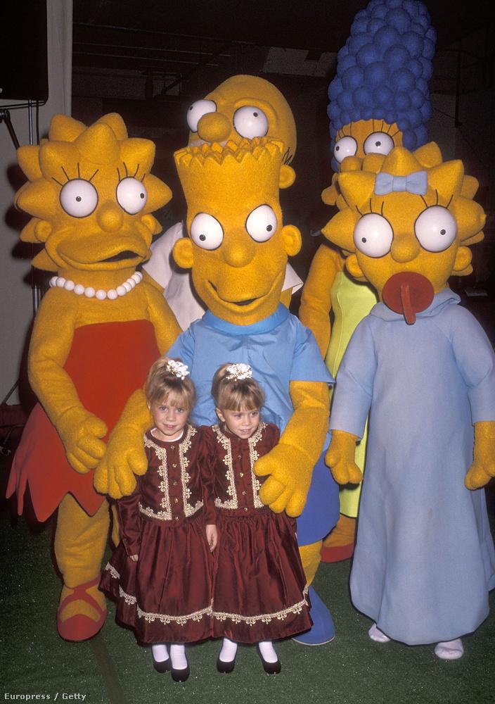 A Simpson családban is szinkronizálhattak egy rész erejéig, de ezt már 2004-ben, 18 évesen.