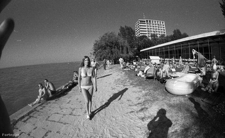 Pár fotóval ezelőtt már láthatta a Hotel Európát szinte ugyanebből a szögből - most megnézheti, hogy milyen volt 1978-ban.