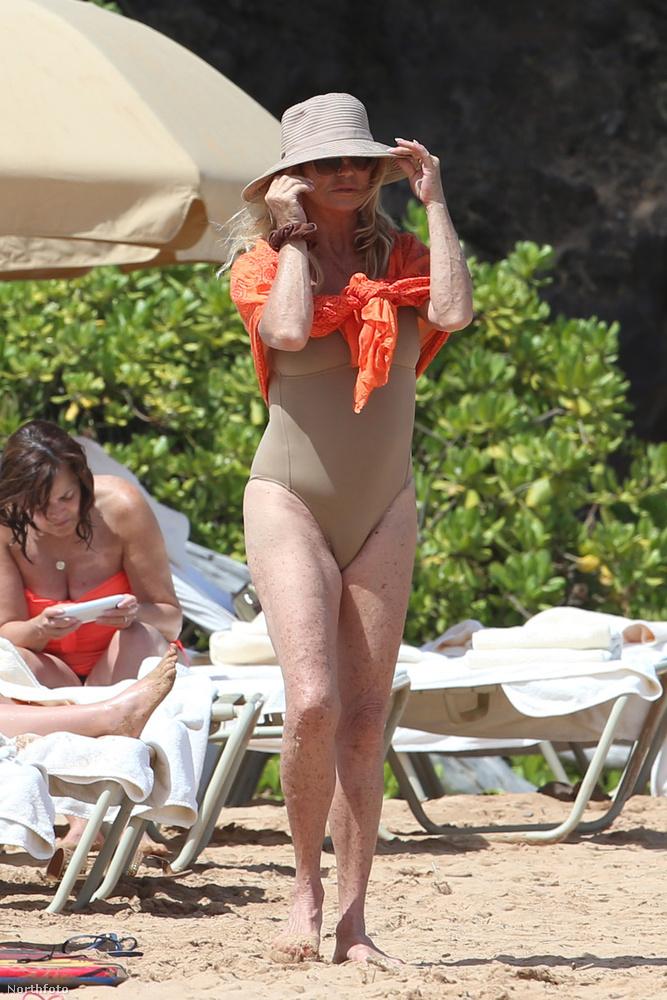 Egy csöppet sajnáljuk, hogy most nincs a színésznő mellett Kurt Russell