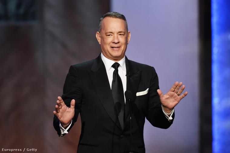 Tom Hanks már 2015-ben is Clintont segítette annak kampányában.