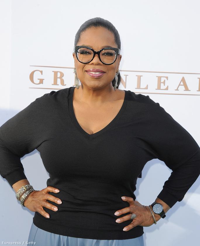 Oprah Winfrey szintén nyíltan támogatja, hogy Hillary Clinton legyen az USA első női elnöke.