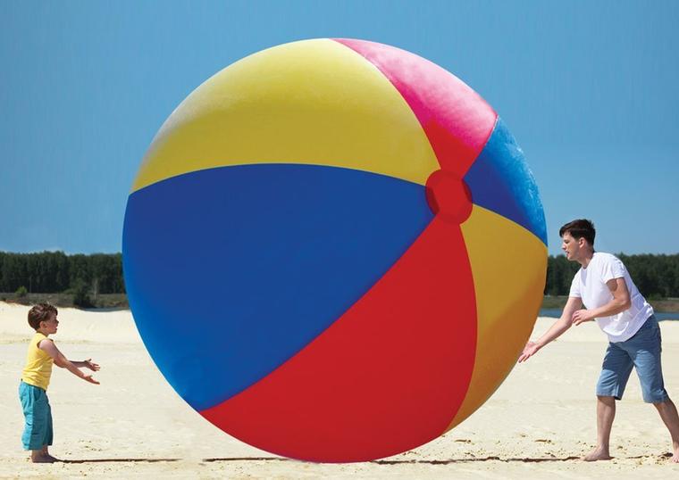 Ez a gigantikus labda nem photoshop - ez létezik, és ön is megrendelheti! (Innen)