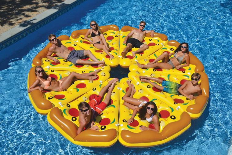...amiből akár egy egész pizzát is össze lehet tenni