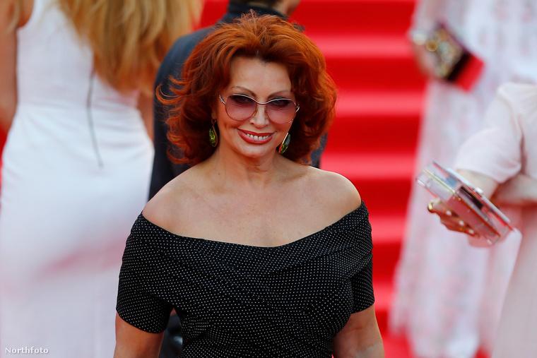 A 81 éves olasz színésznő csütörtökön a 38