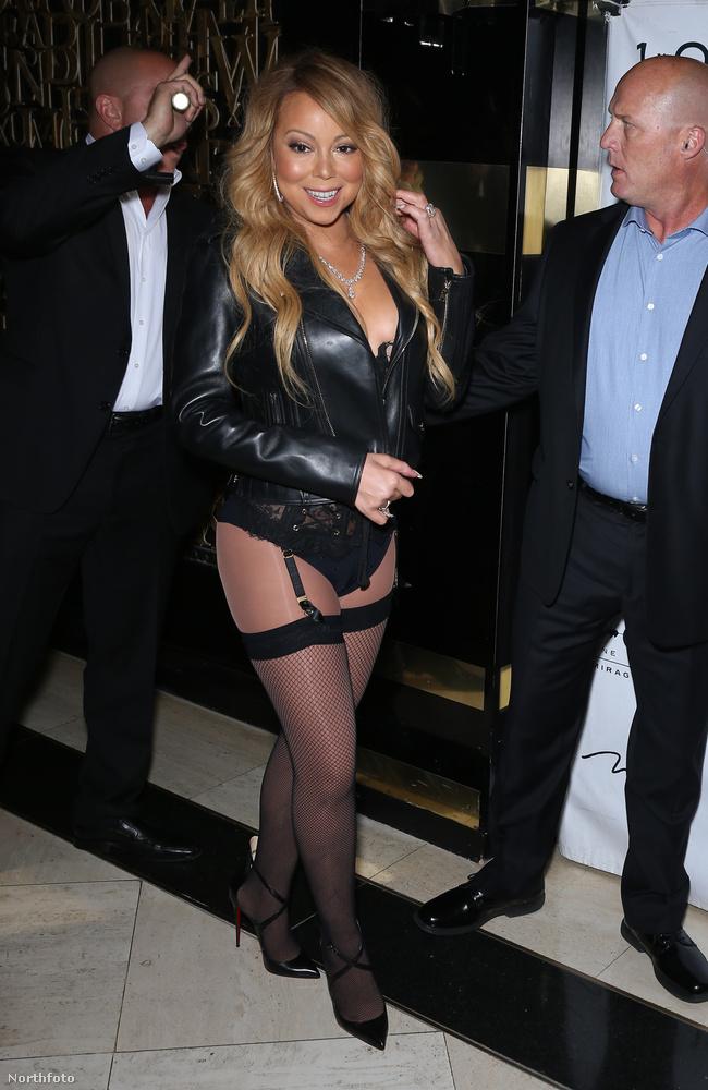 Mariah Carey június 25-én, nagyjából hajnali 1 óra körül jelent meg a Las Vegas-i 1OAK nevezetű nightclubban