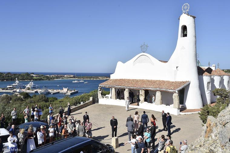 Azért egy ilyen helyen ön is el tudná képzelni az esküvőjét, nem?