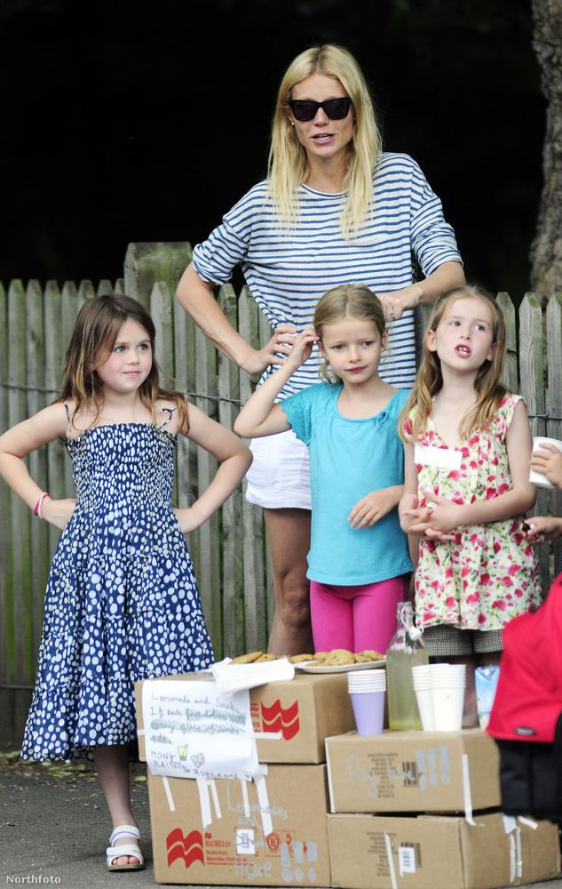 Gwyneth Paltrowék már közel sem olyan szép standon árulták az italt, mint a Witherspoon fiúk