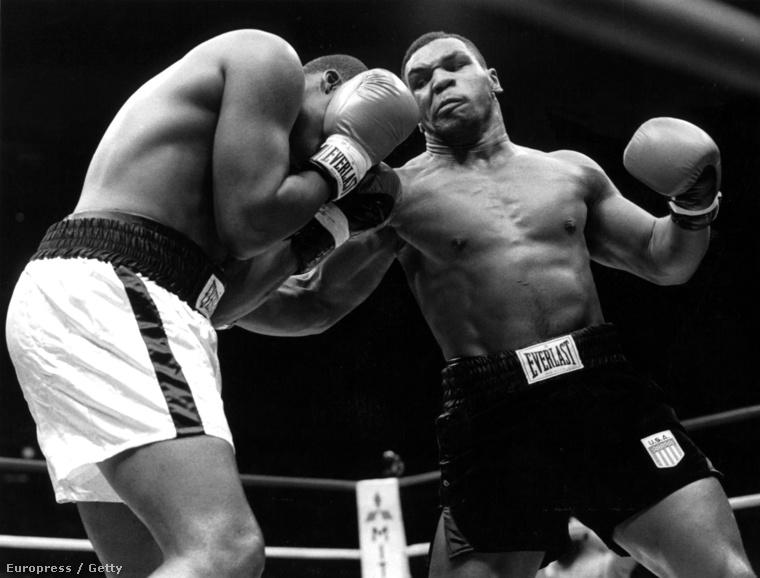 Tyson már gyerekkorában elkezdte a botrányos életet