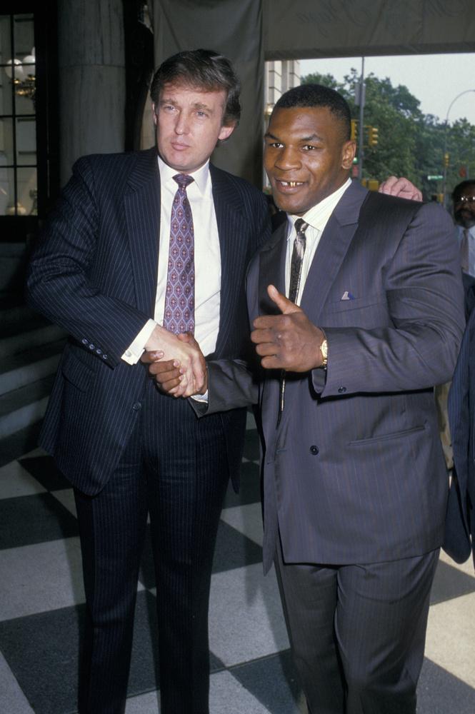 Tyson bevallottan támogatja a republikánus elnökjelöltet, Donald Trumpot