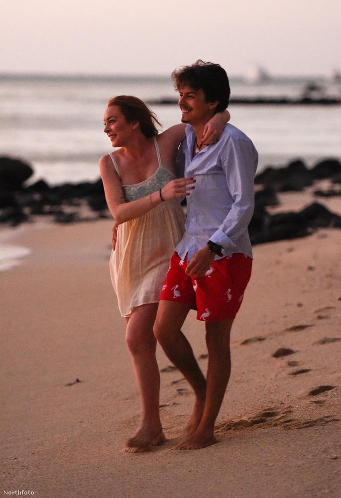 Azt eddig is sejteni lehetett, hogy Lindsay Lohannak a maradék csepp esze is elment a szerelemtől, de ez a feltételezés most végképp bizonyosságot nyert