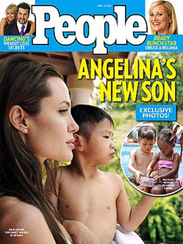 Ő Pax Thien Jolie-Pitt, akinek első, anyjával közös fotóit a People magazin vette meg 2 millió dollárért, vagyis több mint 500 millió forintért