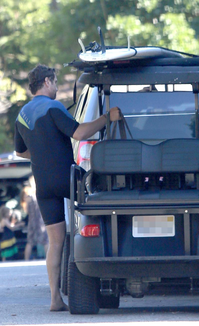 Gerard Butler Malibuban töltötte a július 4-et