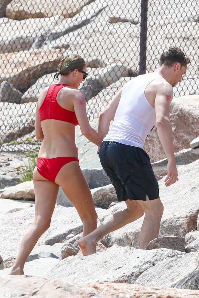 Lively és Karlie Kloss társaságában töltötte a napot Taylor Swift és Tom Hiddleston is, akik továbbra is azt mutatják, hogy nagyon szerelmesek.