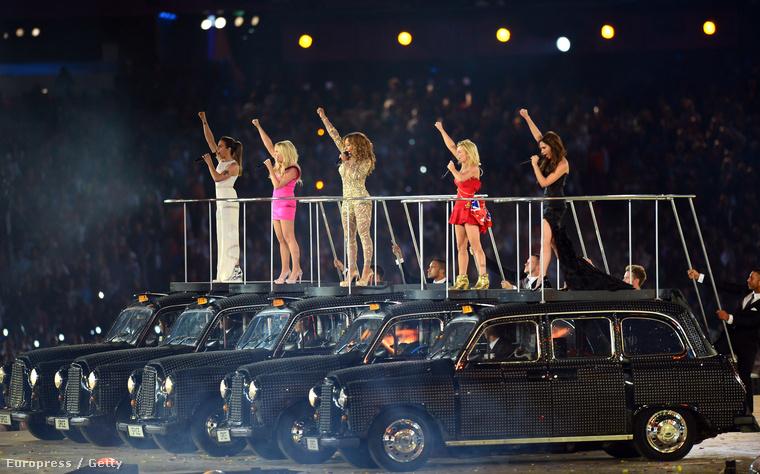 Az utolsó alkalom, hogy a Spice Girls öt tagja együtt fellépett és elénekelte a Wannabe című számot: ez volt a 2012-es londoni olimpia megnyitója