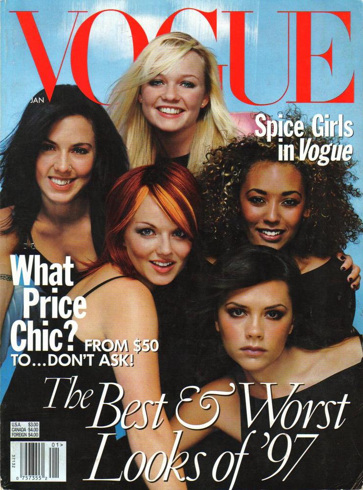 Állítólag Anna Wintour később megbánta, hogy a Vogue 1998-as januári címlapjához a Spice Girlst hívták meg, de a dolgot visszavonni nem lehetett: a Spice Girls rajta volt a legpuccosabb magazin címlapján