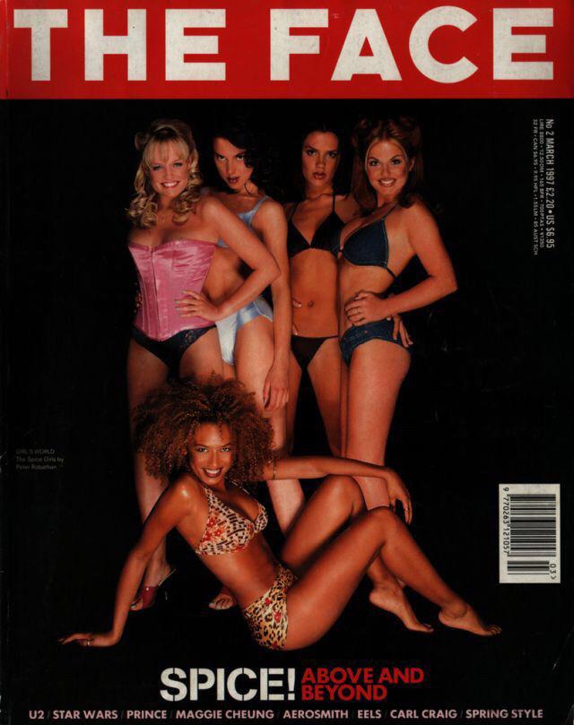 A THE FACE magazin sok mindenben úttörő volt, ők fedezték fel Kate Mosst is például