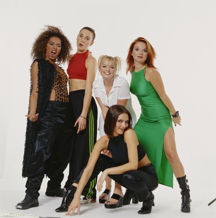 Ez az egyik első hivatalos sajtófotó a Spice Girlsről