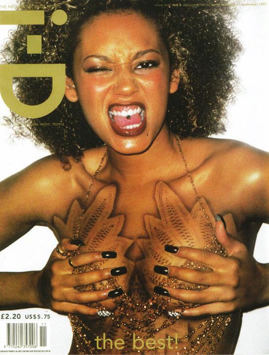 Egy másik borzasztó menő brit lap is a címlapján is feltűnt az együttes 1997