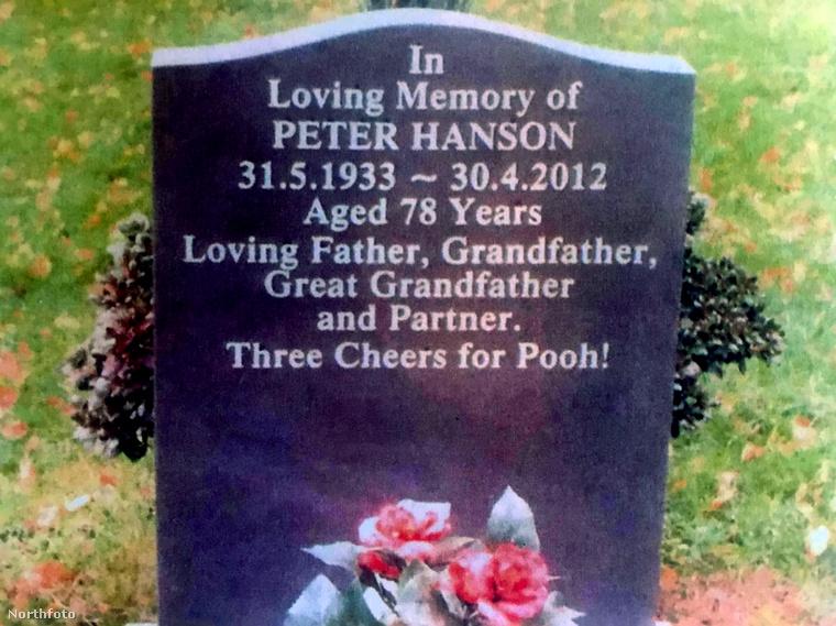 Ezzel szemben a család ezt a sírkövet állíttatta, Spickenreuther megkérdezése nélkül