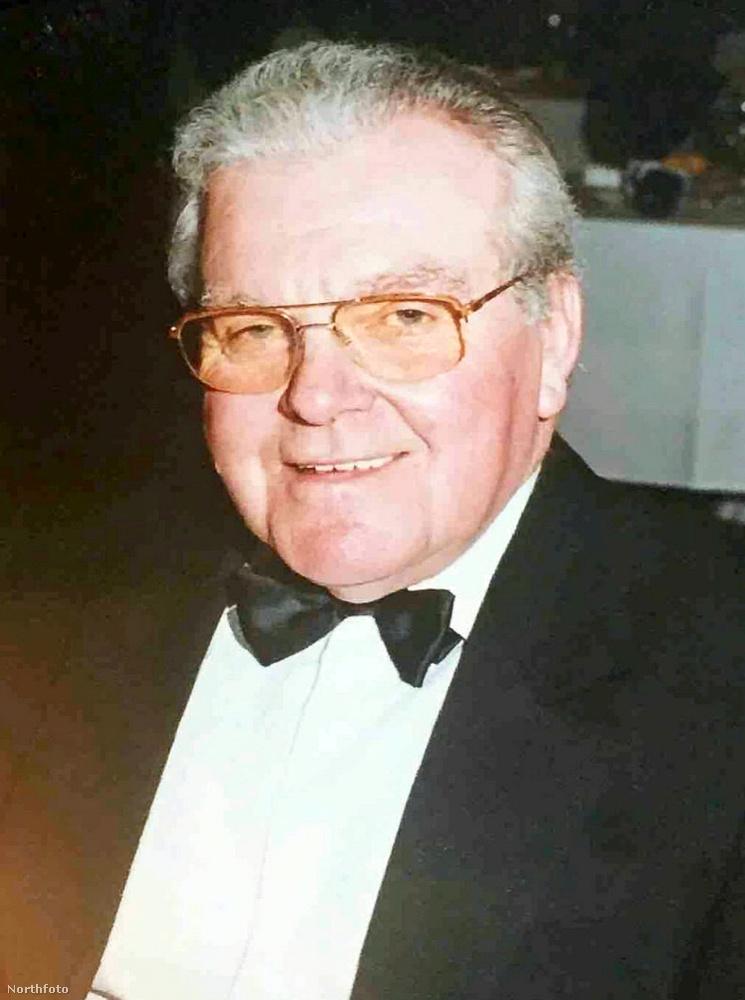 Ez az üzletember a képen látható Peter Hanson volt, akinek volt egy felesége és két gyereke
