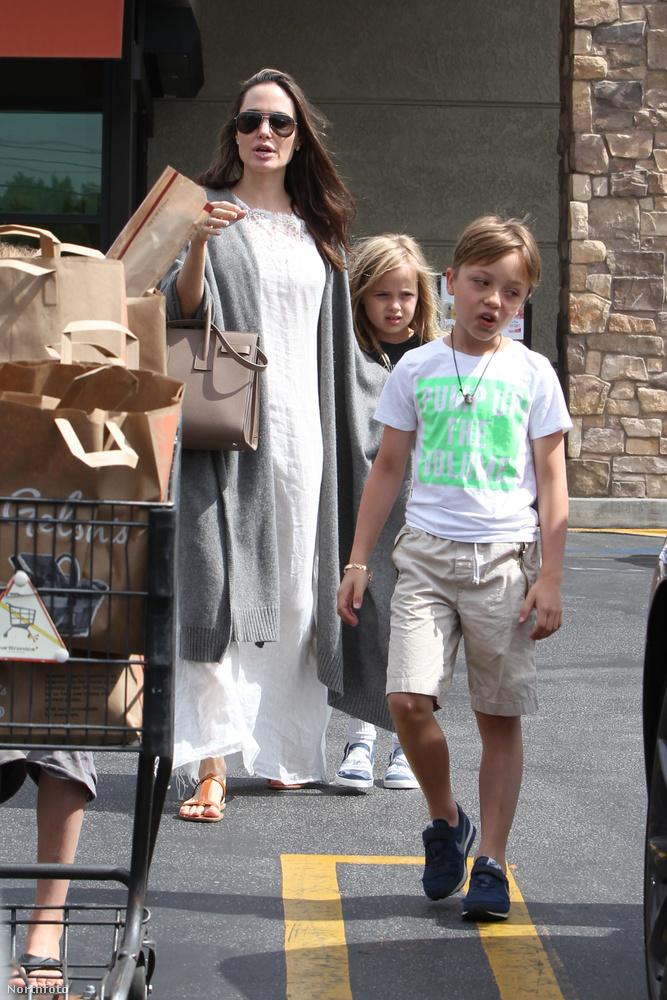 Régen láthattuk Jolie-ékat ekkora családi idillben, úgyhogy most jól nézze meg ezeket a fotókat!