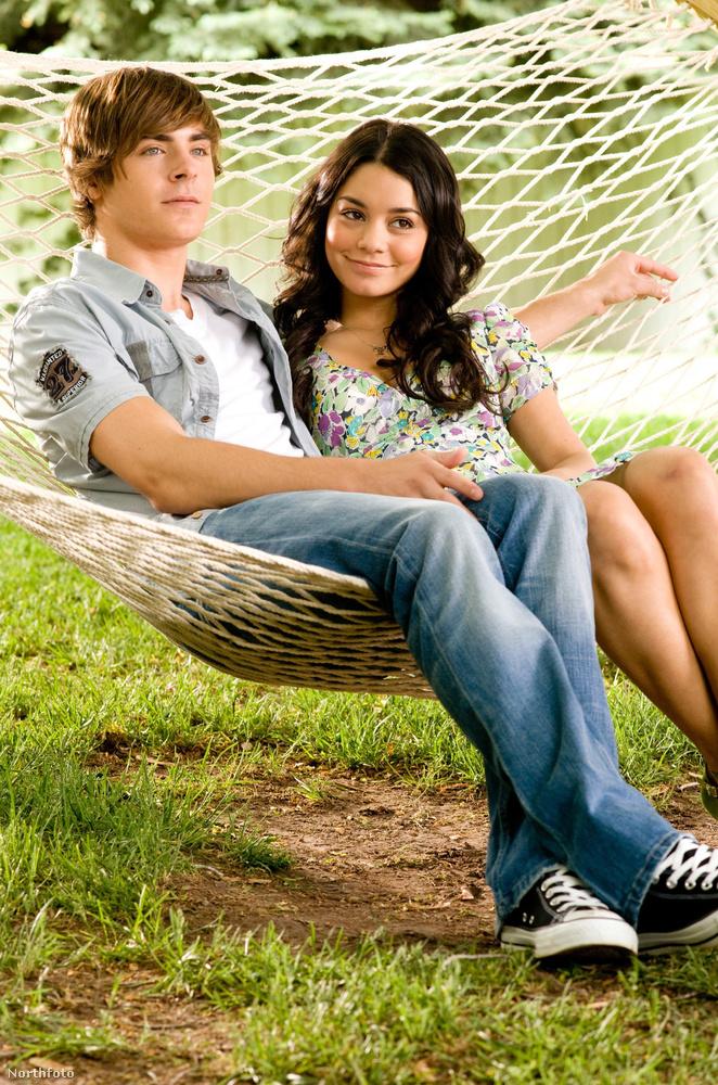 Zac Efron és Vanessa Hudgens kapcsolata szinte párhuzamosan alakult a High School Musicalben játszott karakterük kapcsolatával