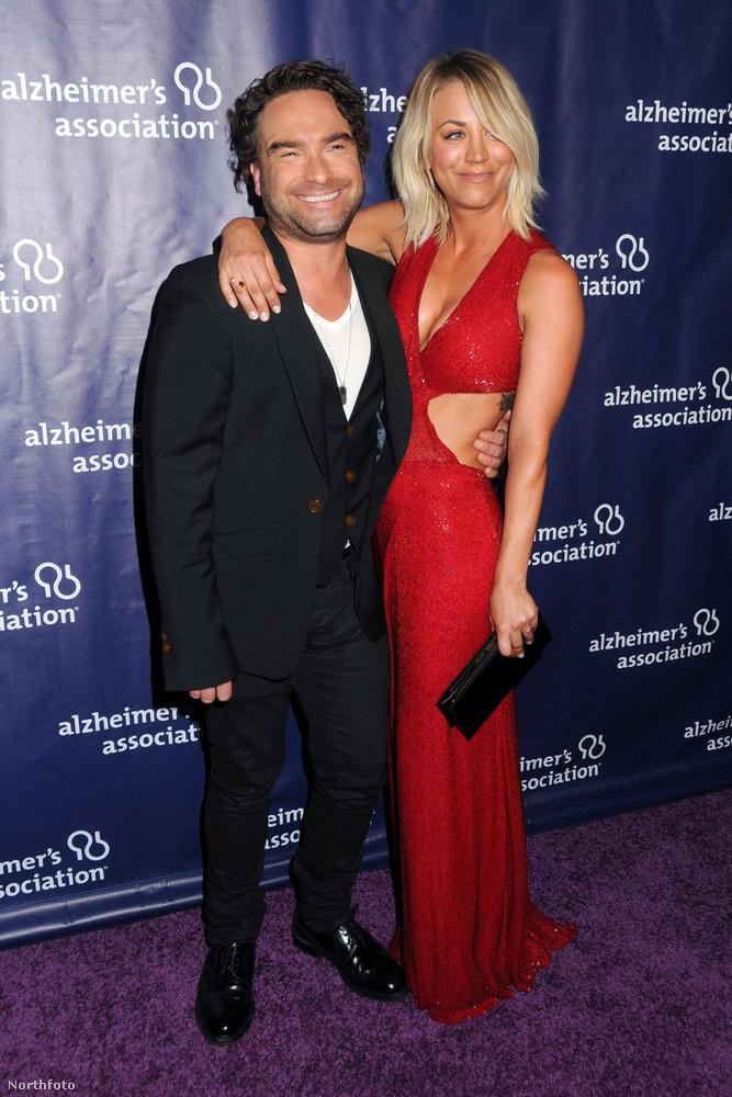 Johnny Galecki az Agymenők forgatása közben melegedett össze színésztársával, Kaley Cuocoval még 2008-ban