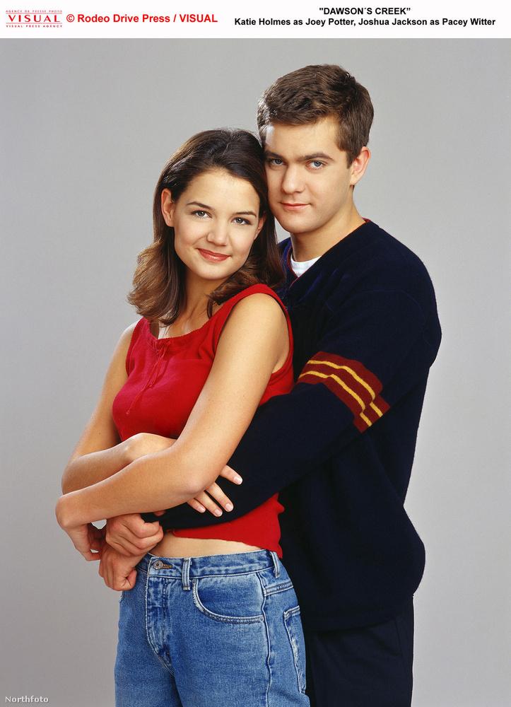 A Dawson és a haverok című tinisorozatban nemcsak a kamerák előtt csapott le Katie Holmes Joshua Jacksonra