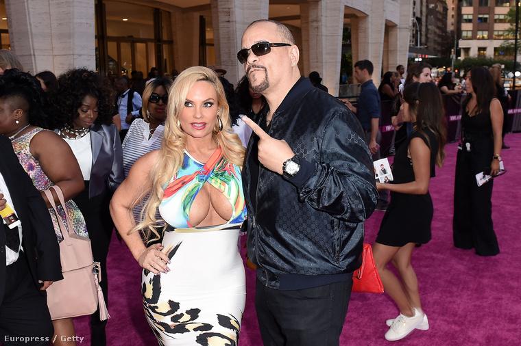 Ha már hip hop, természetesen Ice T, és felesége, Coco T is megjelentek.