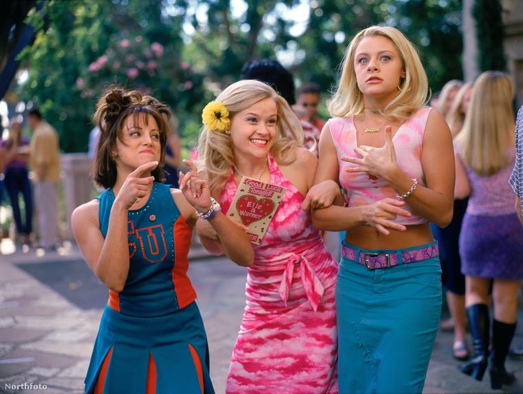 Witherspoon a film előtt az egyetemi diákegyletek lányait tanulmányozta.