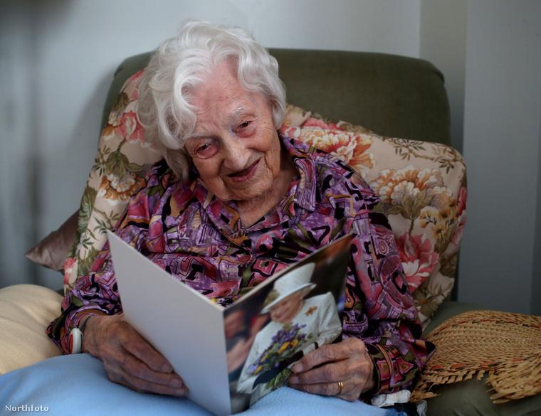 113 éves korában elhunyt a legidősebb angol állampolgár, Gladys Hermistone-Hooper