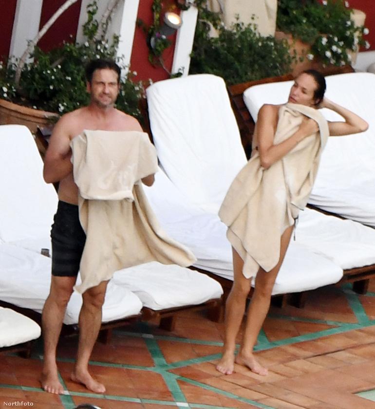 Gerard Butler jelenleg az A-listás hírességek egyik kedvenc helyén, az olaszországi Positanóban vakációzik belsőépítész barátnője, Morgan Brown társaságában.
