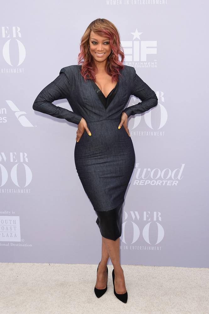 Tyra Banks jó ideje nem modellkedik, produkciós céget alapított, sminktermékeket forgalmaz, a nevéhez köthető Topmodell leszek! c