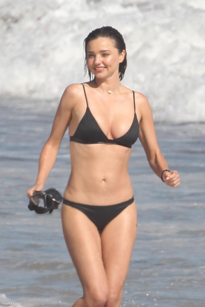 Szóval lehet, hogy Miranda Kerr jól érzi magát ilyenkor...