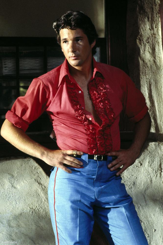Richard Gere 1983-ban igazi csábítóként pózolt a Kifulladásig Los Angelesben című film egyik jelenetében