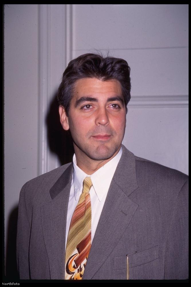 George Clooney-ról ez a fotó 1994-ben készült, 33 éves korában