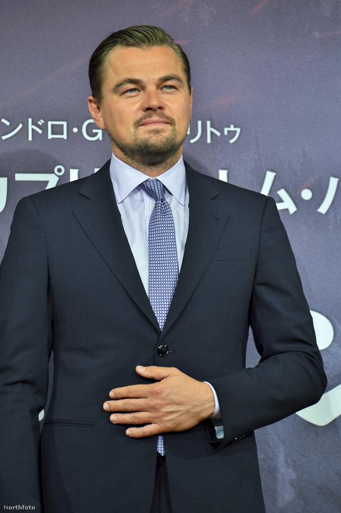 Azóta kerek húsz év telt el, a 41 éves DiCaprio Oscar-díjas színész lett